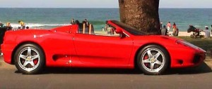 360 Spyder at beach 3