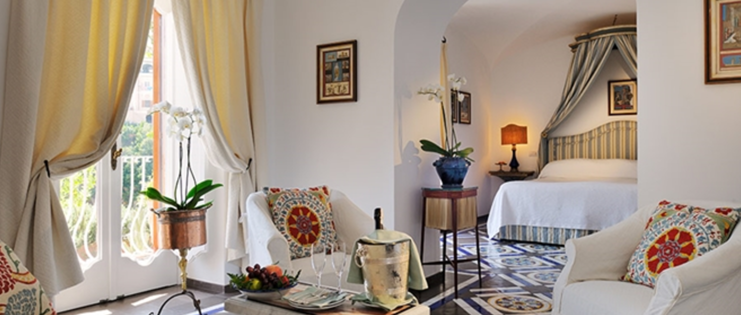 Peter Spann's Italy le Sirenuse Suite